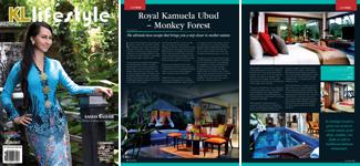 Royal Kamuela Ubud in KL lifestyle magazine